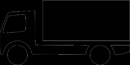 物流货物卡车图标