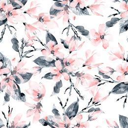 水彩手绘花卉背景