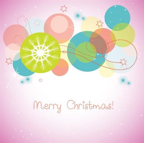 圣诞新年贺卡背景图片