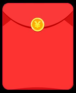 微信红包装饰元素图片
