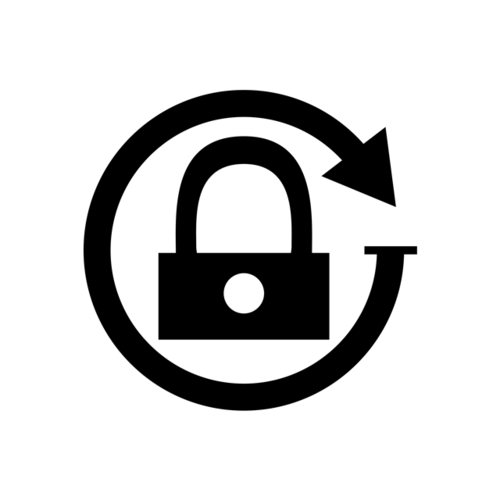 手机解锁AI矢量图标