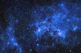夜晚梦幻星空壁纸