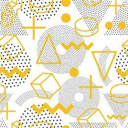 几何纹理孟菲斯背景图片