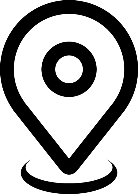 GPS导航定位矢量图标图片