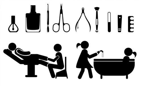 水疗spa图标符号
