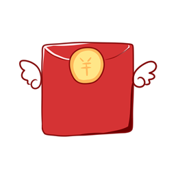 双十二卡通红包矢量图片