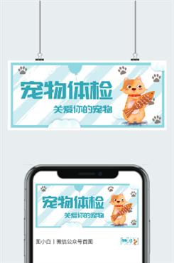 宠物体检广告