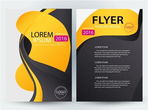 公司宣传册彩页设计模板
