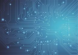 智能芯片电路板背景