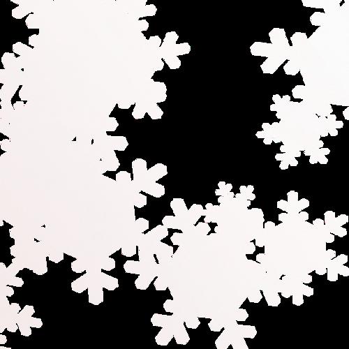 冬天雪花飞舞漂浮元素图片