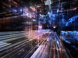 炫彩科技风PPT背景图