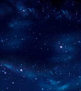 蓝色星空背景壁纸