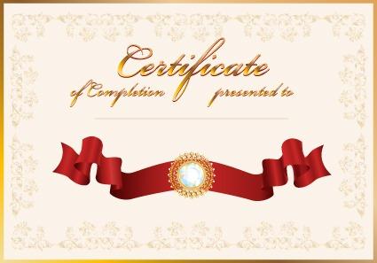 荣誉证书封面模板