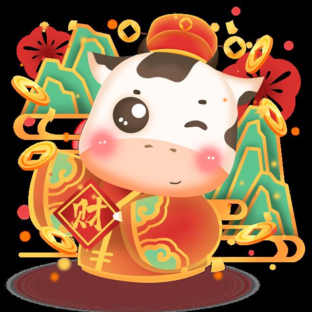春节海报插画