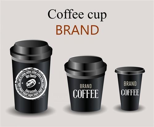 咖啡杯矢量设计图