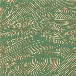 绿色烫金纹理图片