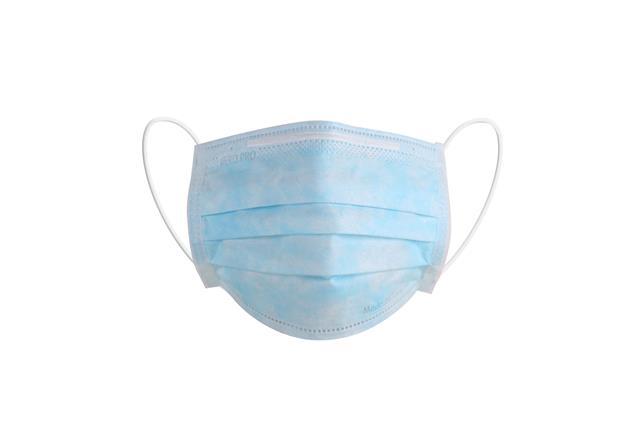 抗击疫情一次性医用口罩实物图片