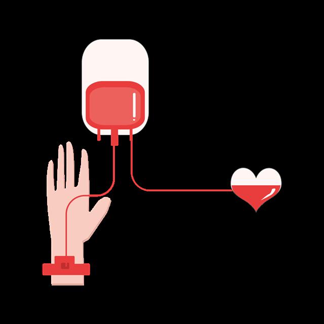 公益献血车装饰