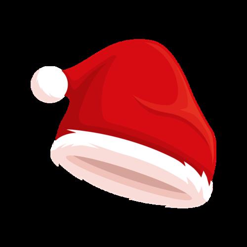 圣诞帽节日元素免抠图片