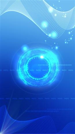 科技线条蓝色背景