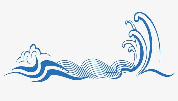 中国风海浪纹