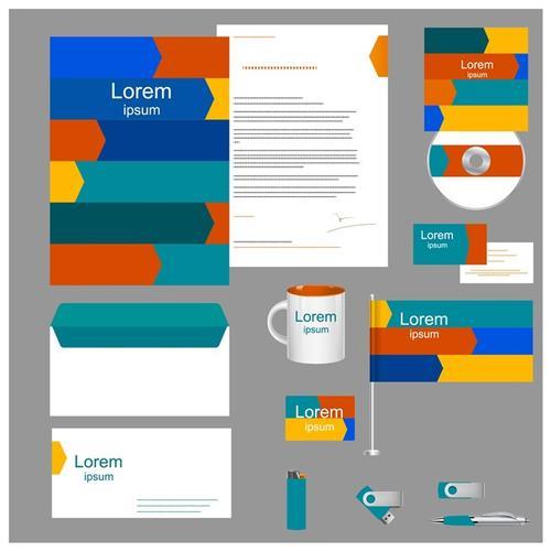 企业视觉系统vi设计模板