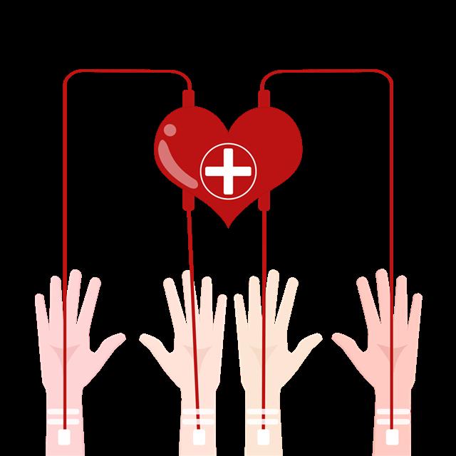 公益献血宣传装饰