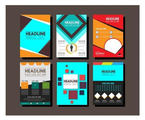 企业宣传单页封面模板