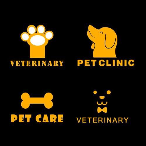 宠物医院主题logo