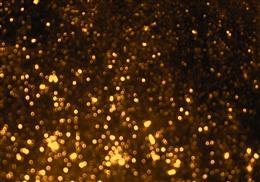 金色光斑粒子背景