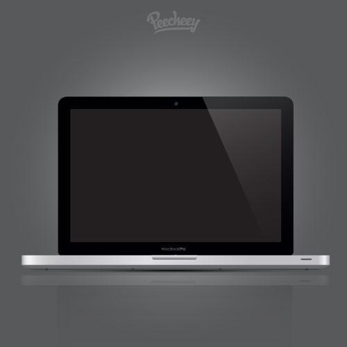 苹果笔记本样机图片