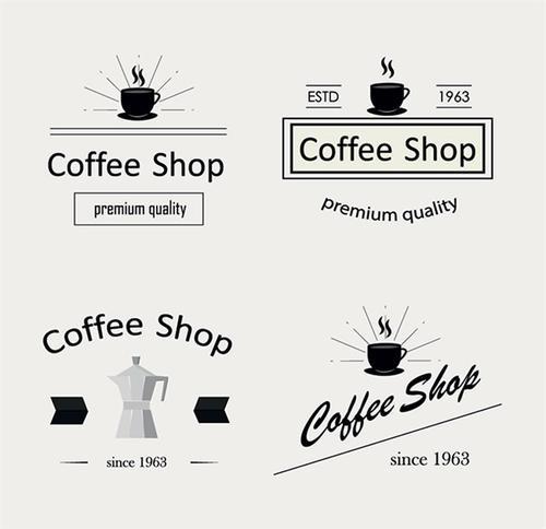 咖啡厅logo创意设计