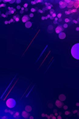霓虹灯光斑背景
