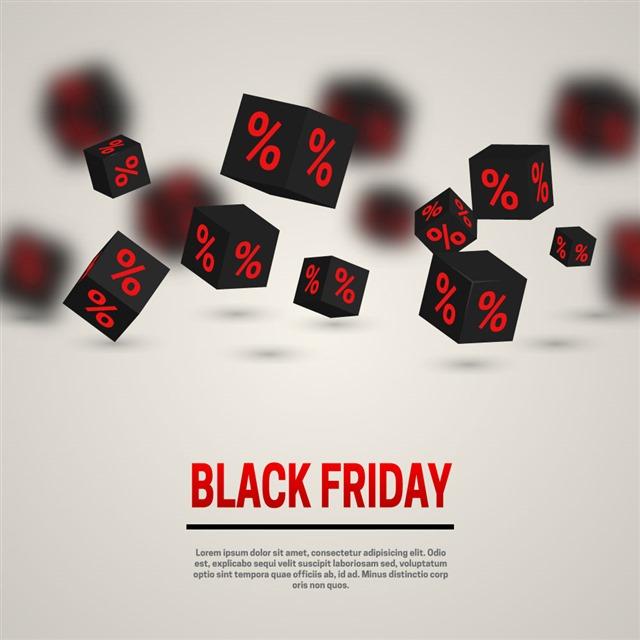 黑色星期五购物节图片