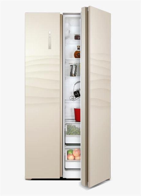 双开门对开门冰箱图片