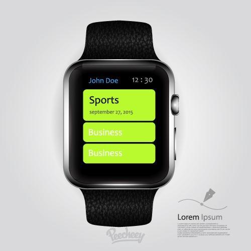 苹果官网apple watch6样机图片