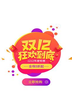 双12狂欢logo