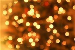 圣诞节浪漫光斑背景