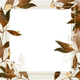 树叶边框素材