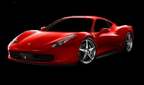 红色法拉利跑车图片