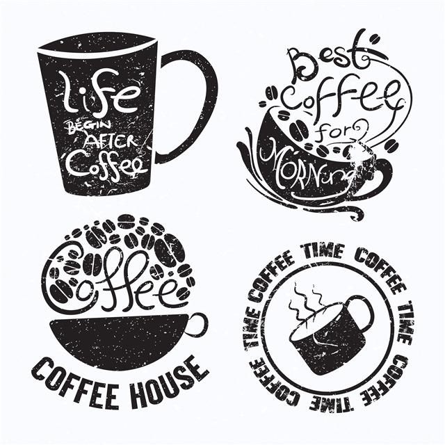 黑白咖啡店装饰