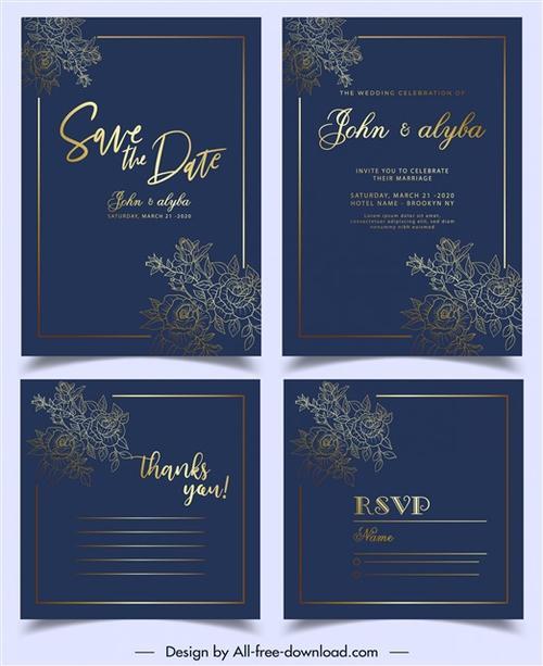 婚礼席位卡