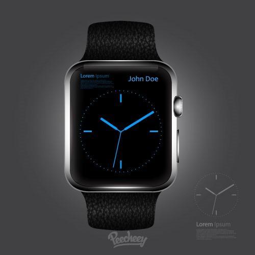 苹果watch6样机模板