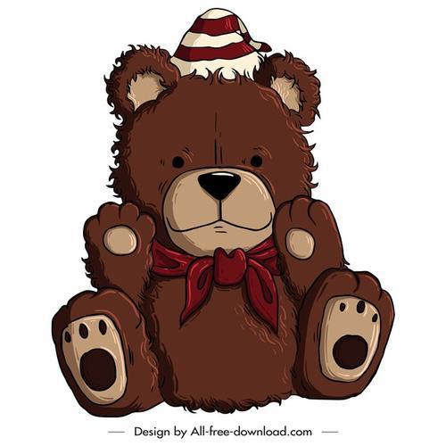 泰迪熊玩偶图片