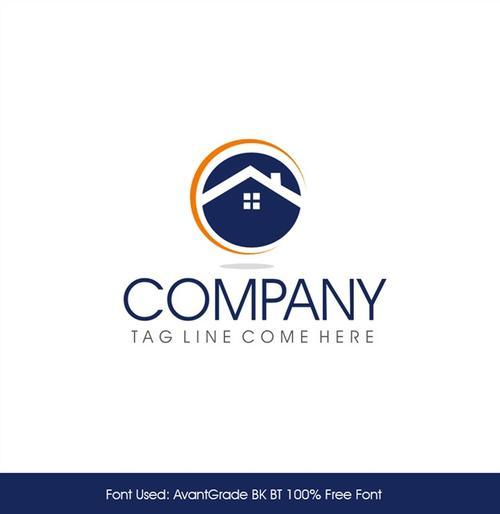 房地产公司logo图片