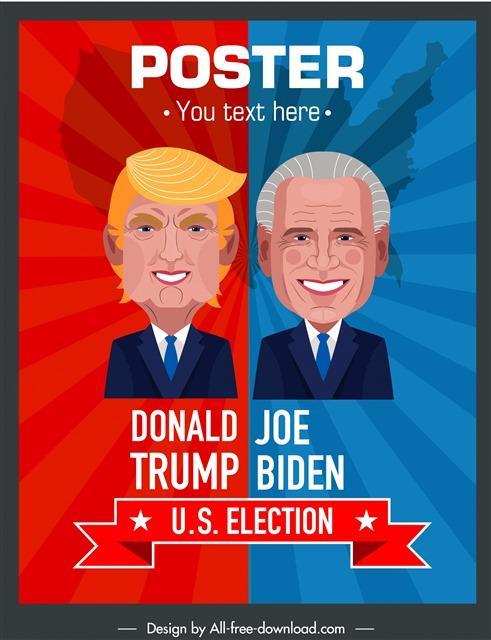 特朗普vs拜登搞笑图片