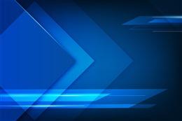 箭头创意蓝色科技背景