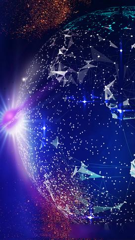 领航未来科技海报