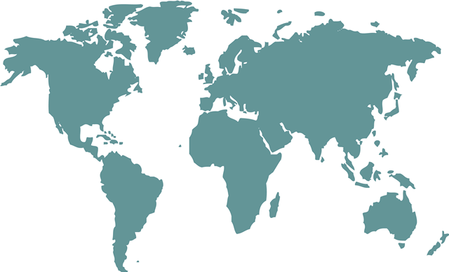 世界地图矢量
