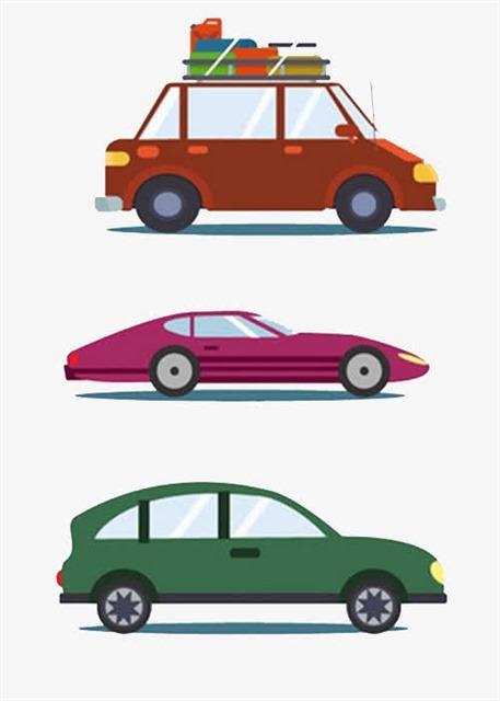卡通汽车图标图片